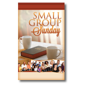 Small Group Sunday 3 x 5 Vinyl Banner