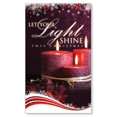 Light Shine Christmas Banner