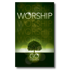 Deeper Roots Worship Horizontal Banners