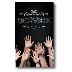 Chalk Service Banner