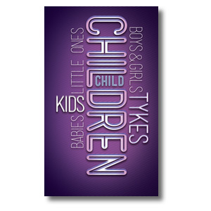 Words Children Banners