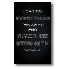 Chalk Phil 4:13 Banner