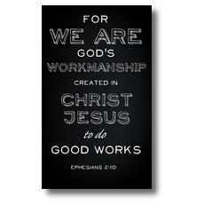 Chalk Eph 2:10 Banner