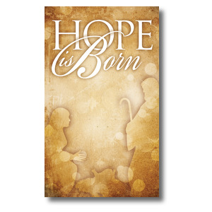 Hope is Born Banners
