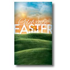 Easter Landscape Banner