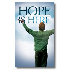 Hope Is Here 3 x 5 Vinyl Banner