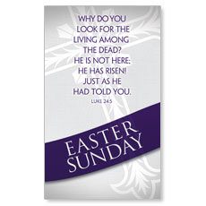 Easter Ribbon Sunday Banner