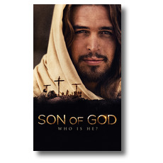 Son of God Who is He? Banner