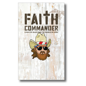 Faith Commander Kids  3 x 5 Vinyl Banner