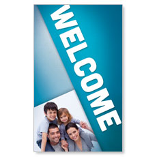 Family Welcome Banner