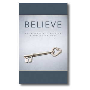 Believe Now Live The Story 3 x 5 Vinyl Banner