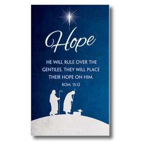 Advent Hope 3 x 5 Vinyl Banner