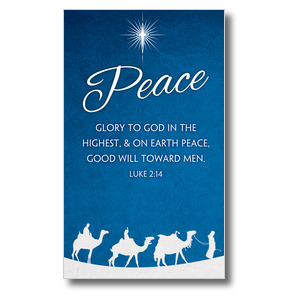 Advent Peace 3 x 5 Vinyl Banner