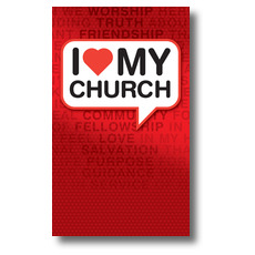 I Love My Church Banner