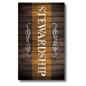 Rustic Charm Stewardship Banners
