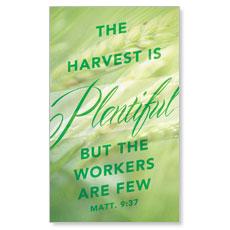 Harvest Green L Banner