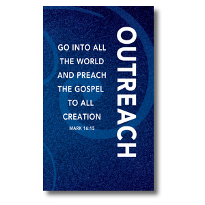 Flourish Outreach 3 x 5 Vinyl Banner