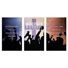 Worship Loud Triptych