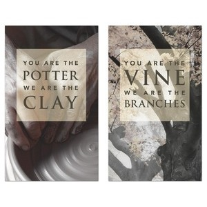 Potter And Vine   3 x 5 Vinyl Banner