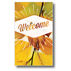 Welcome Burst Banner
