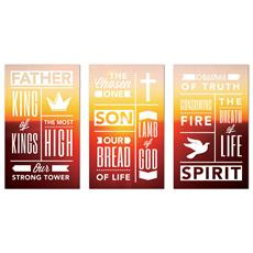 Phrases Trinity Triptych