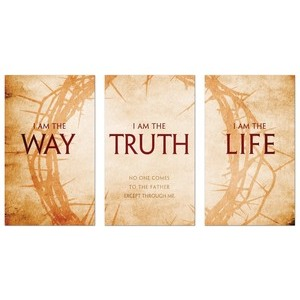 I AM The Way  3 x 5 Vinyl Banner
