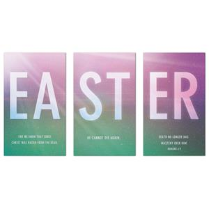 Easter Color Triptych  Banners