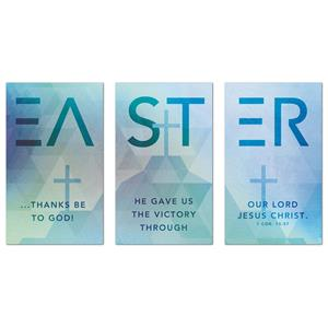 Easter Geometric  Banners