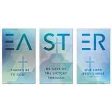 Easter Geometric Banner
