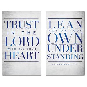 Trust The Lord Pair Banners