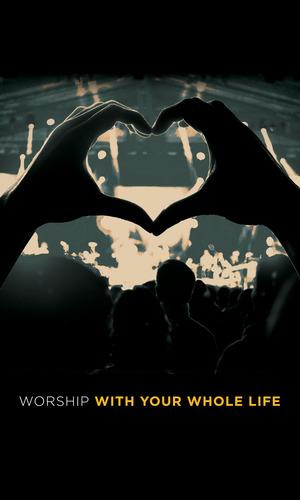 Worshiper Heart 3x5