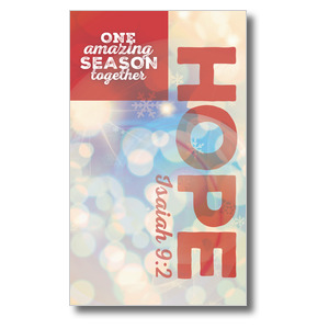 One Amazing Season Hope Banners