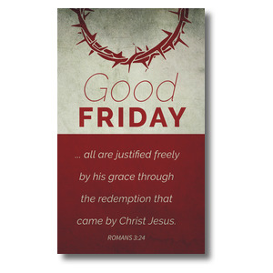 Color Block Good Friday 3 x 5 Vinyl Banner