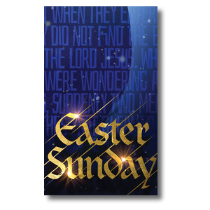 Easter Sunday Blue Tomb Banners