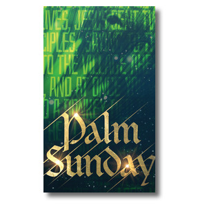 Palm Sunday Green Donkey Banners
