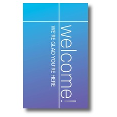 Color Wash Welcome Banner