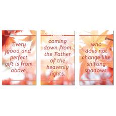 James 1:17 Leaves Banner