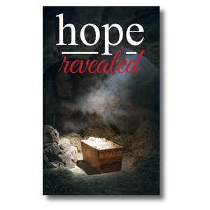 Hope Revealed Manger 3 x 5 Vinyl Banner