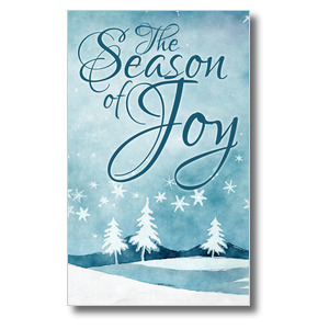 Season of Joy 3 x 5 Vinyl Banner
