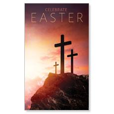 Easter Crosses Hilltop Banner