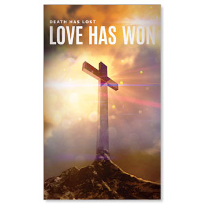 Love Has Won 3 x 5 Vinyl Banner