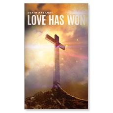 Love Has Won Banner