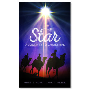 The Star: A Journey to Christmas 3 x 5 Vinyl Banner
