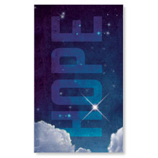 Hope Clouds Banner