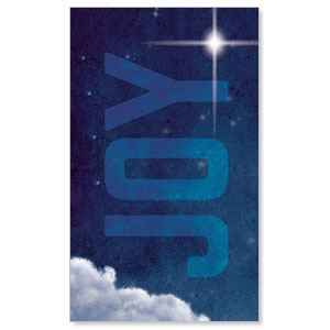 Joy Clouds 3 x 5 Vinyl Banner