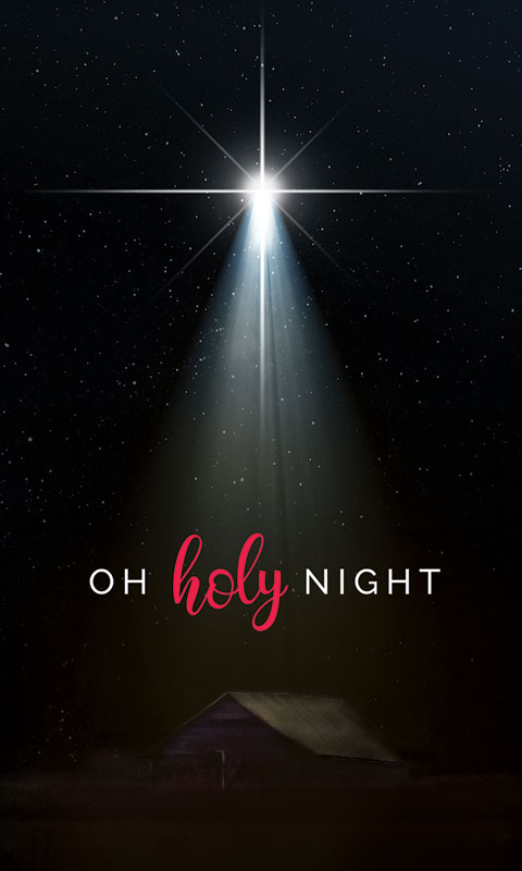 Oh Holy Night Banner Church Banners Outreach Marketing