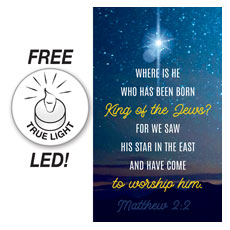 Star Matthew 2:2 Banner