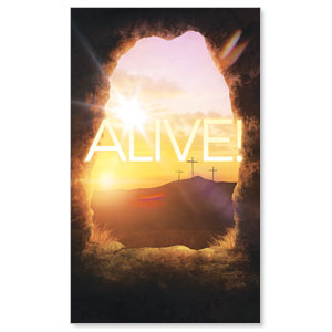 Alive Sunrise Tomb Banners