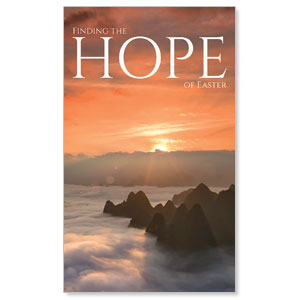 Hope Mountains 3 x 5 Vinyl Banner