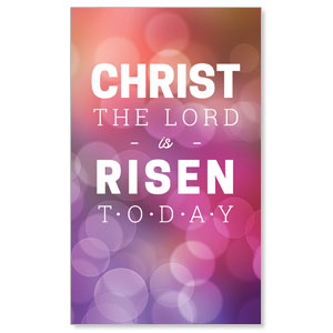 Christ Is Risen Today Banners